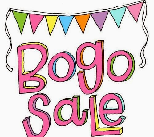 Annual BOGO Sale – THIS SUNDAY!