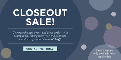 Year-End CLOSEOUTS!!! – Great Deals Up to 60% off!