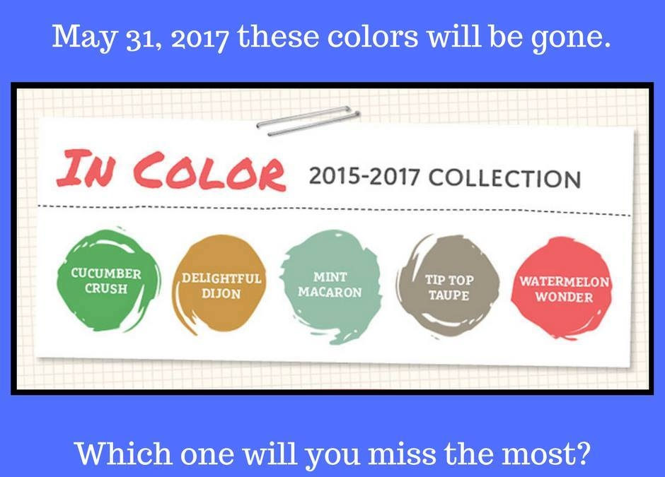 2015-2017 InColors Retiring Soon!