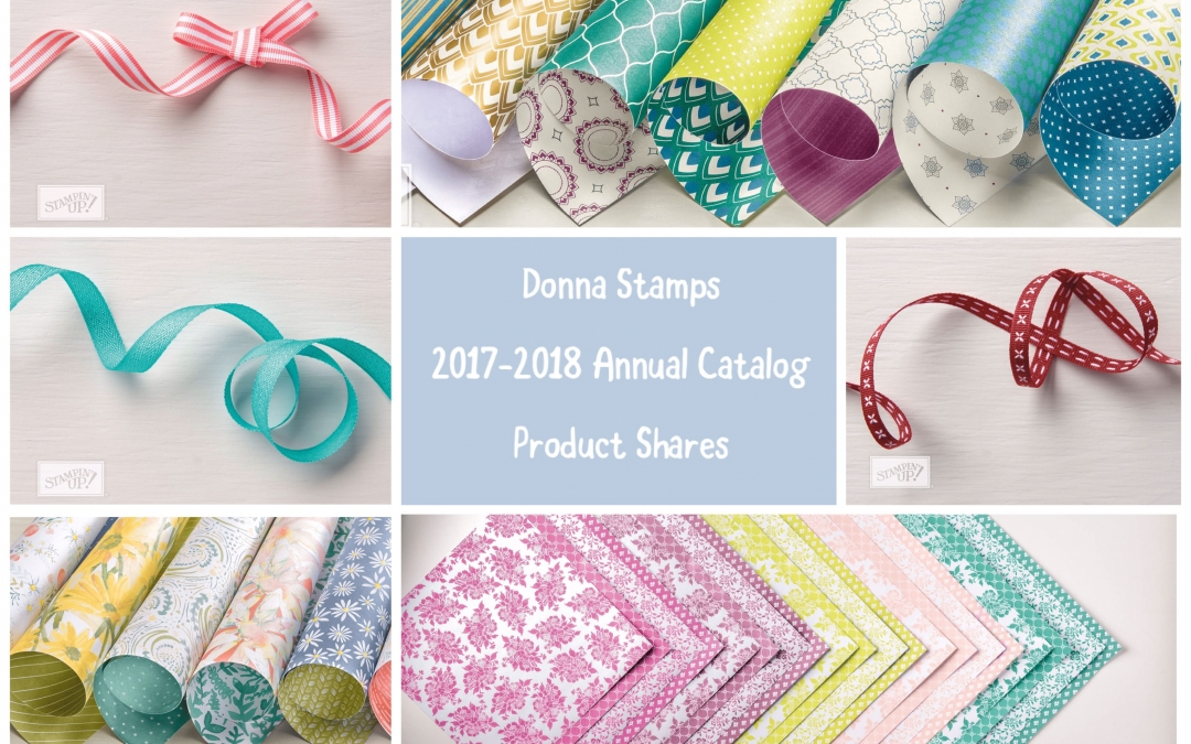 New Paper & Ribbon Shares!