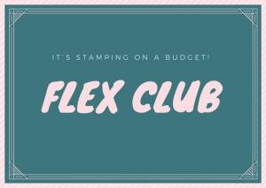 Flex Club Starts This Month!