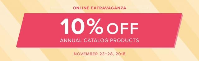 Online Extravaganza Starts Today!