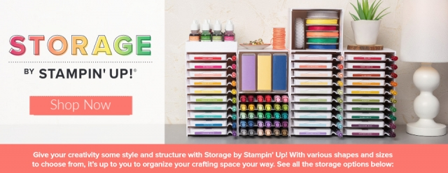 I'm Back with Awesome News! Storage by Stampin' Up!